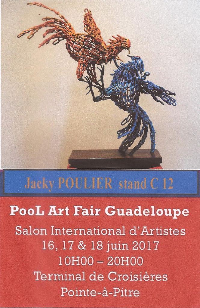 Exposition pool art fair guadeloupe 2017 for Adresse maison des artistes