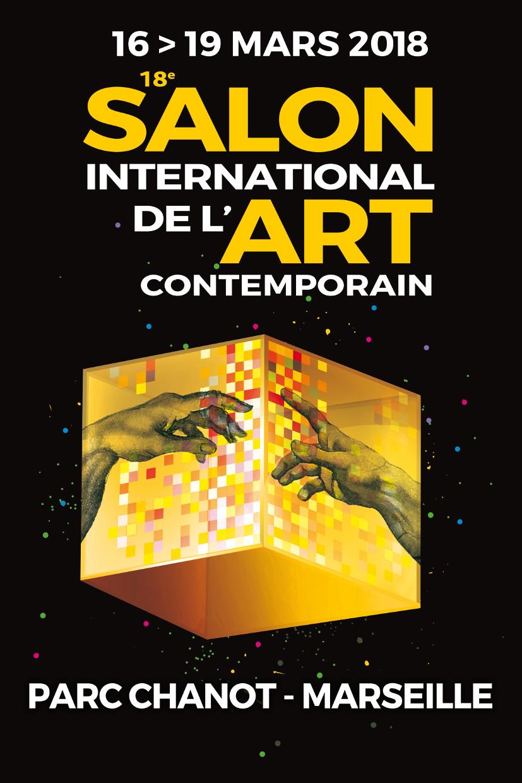 Exposition 18e salon international de l 39 art contemporain for Salon parc chanot