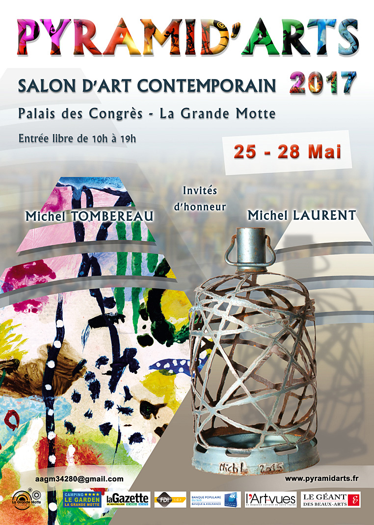 Exposition salon d 39 art contemporain pyramid 39 arts - Salon art contemporain ...