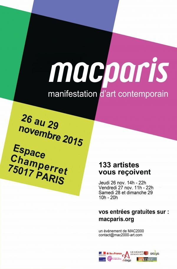 Exposition macparis salon art contemporain - Salon art contemporain ...