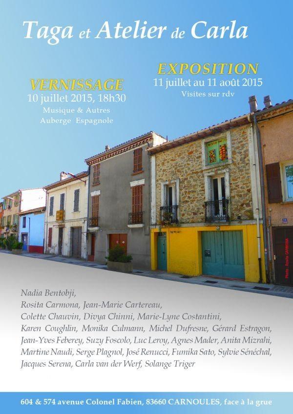 Exposition maison for Association maison des artistes