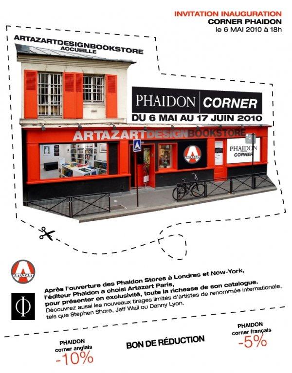 Exposition : Artazart Design Bookstore accueille un Phaidon