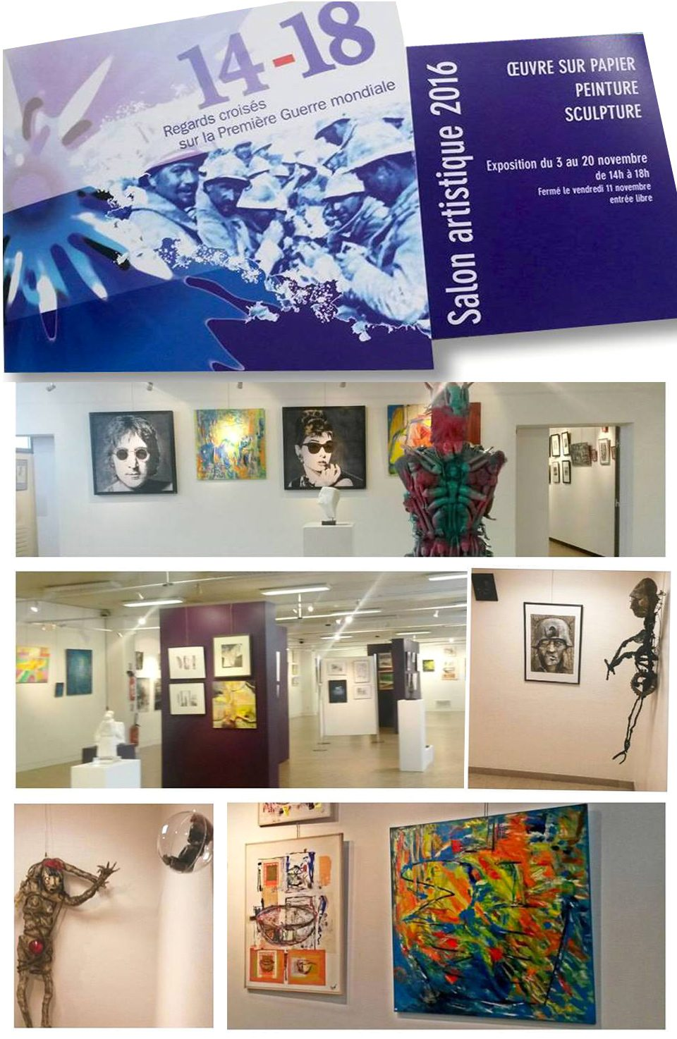 Galerie charlemagne - Salon indien colombes ...