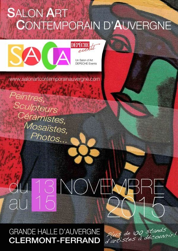 Exposition salon d 39 art contemporain d 39 auvergne - Salon art contemporain ...