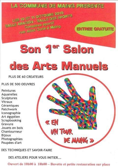 Exposition salon des arts manuels en un tour de maing - Entree gratuite salon agriculture 2015 ...