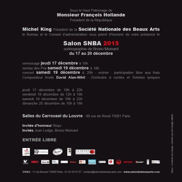 Exposition salon des beaux arts 2015 for Salon des beaux arts