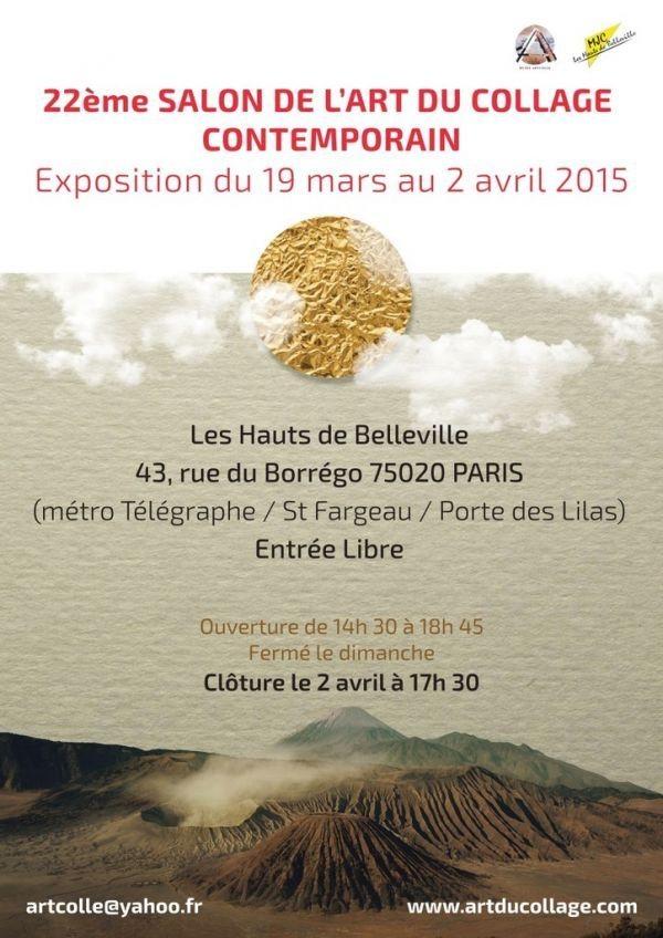 Exposition : Salon du collage contemporain 2015